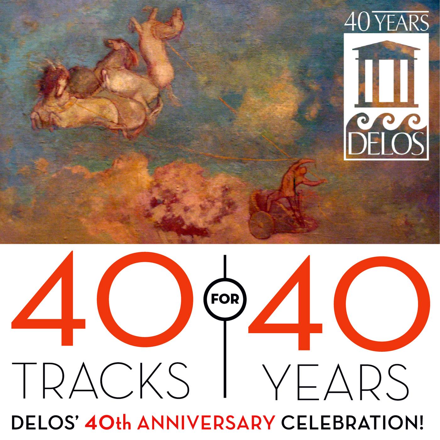 Tracks for years delos th anniversary celebration
