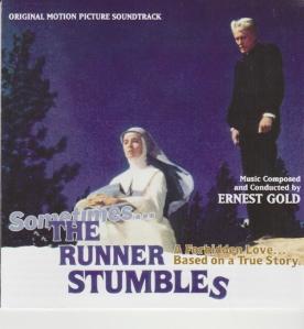 runner stumbles